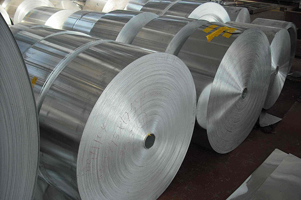 Production process of aluminium coil strip