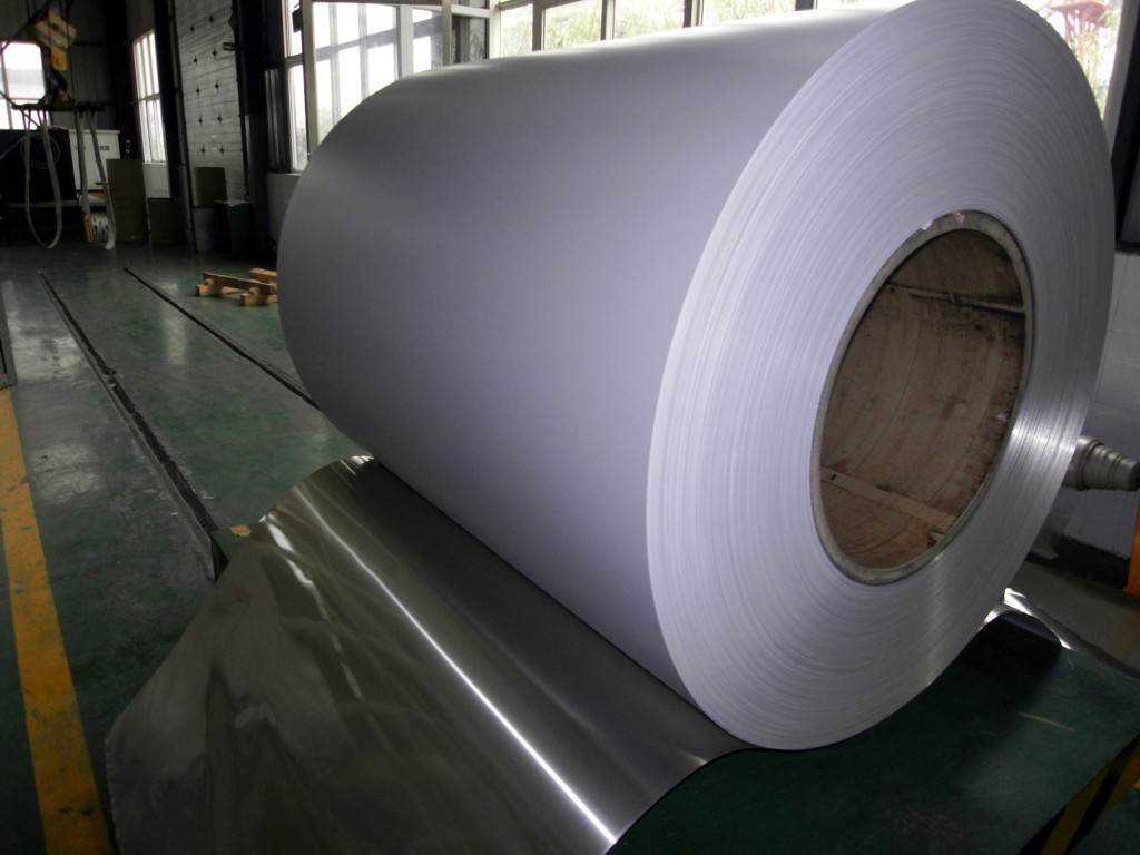 1060 white coated aluminum trim coil