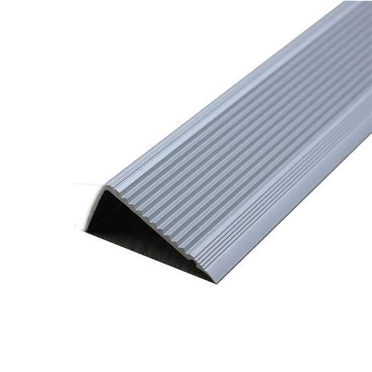 Aluminum strips for stairs